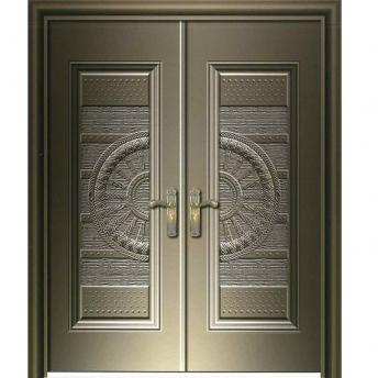 Danterry embossed steel door